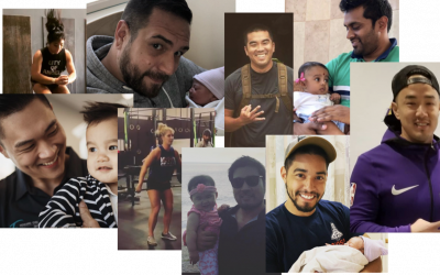 New Dads and B-Day Bash